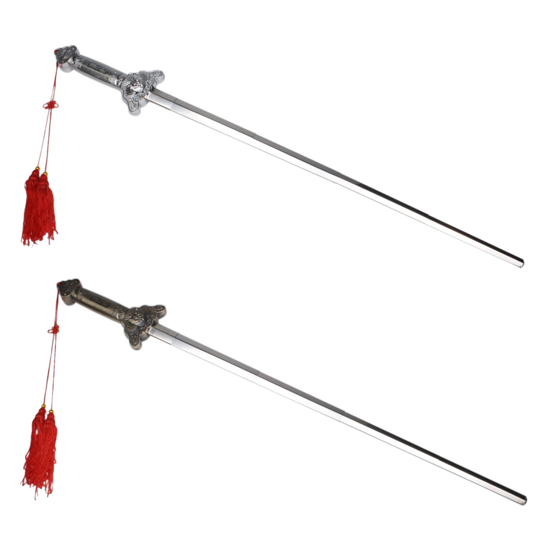 Espada plegable Tai Chi metalica