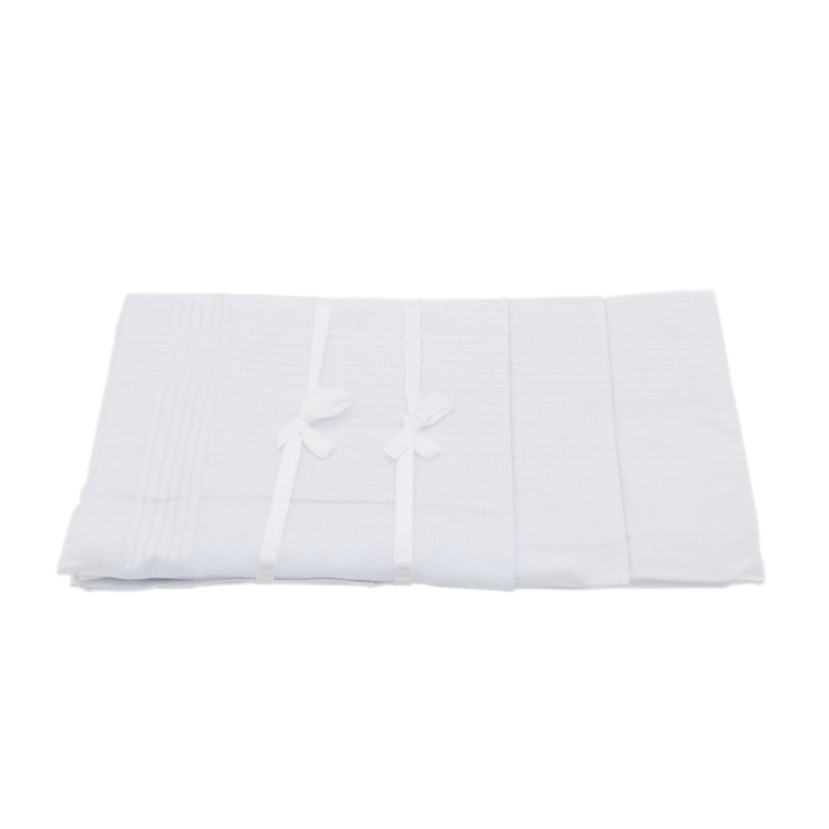 Set 12 pañuelos blancos