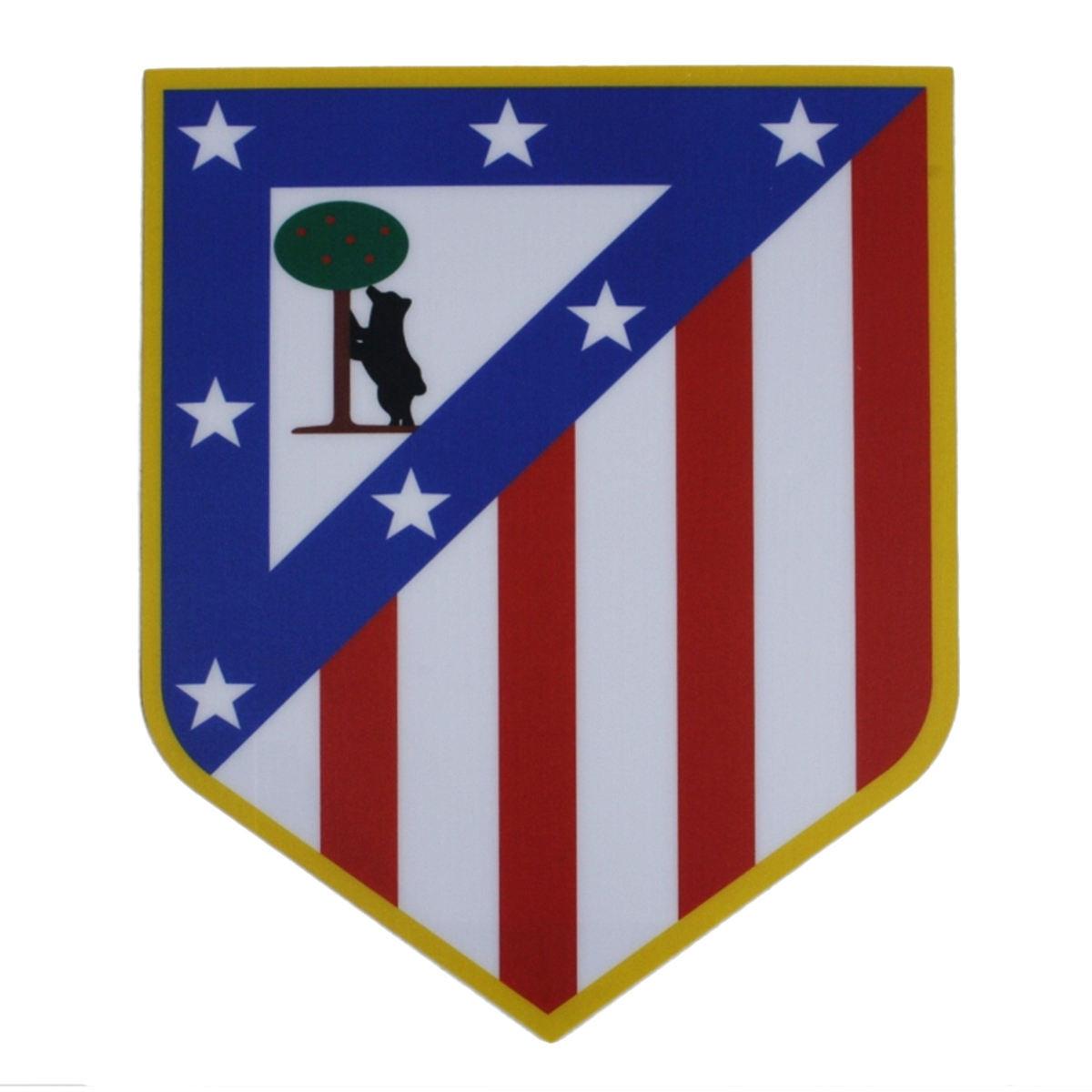 Alfombrilla de ratón escudo de Atlético de Madrid