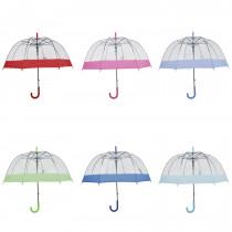 Paraguas automatico transparente 3466A