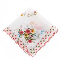 Set 10 pañuelos con flores