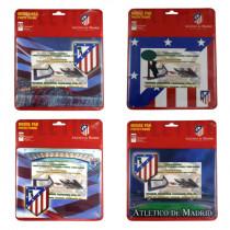 Alfombrilla con marco de fotos de Atlético de Madrid