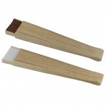 Abanico madera con textura original