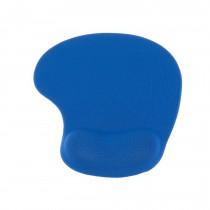 Alfombrilla ratón con gel-Azul