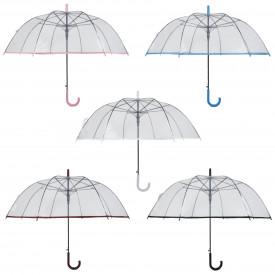 Paraguas automatico transparente 2136